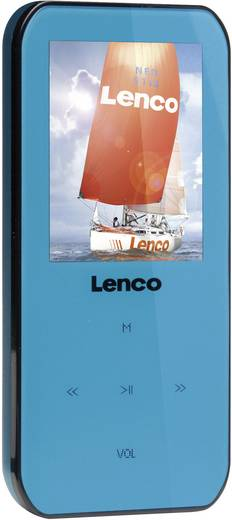 MP3-Player, MP4-Player Lenco Xemio-655 4 GB Blau Sprachaufnahme