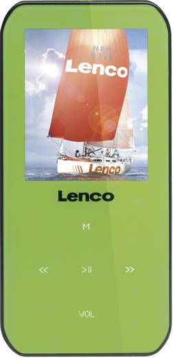 MP3-Player, MP4-Player Lenco Xemio-655 4 GB Grün Sprachaufnahme