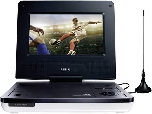 philips pd7005 tragbarer fernseher tragbarer dvd player. Black Bedroom Furniture Sets. Home Design Ideas