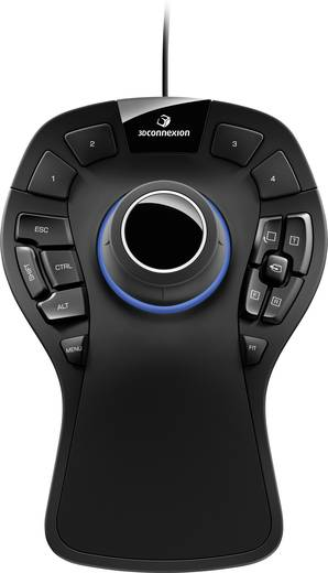 3D-Maus 3Dconnexion SpaceMouse Pro USB Schwarz