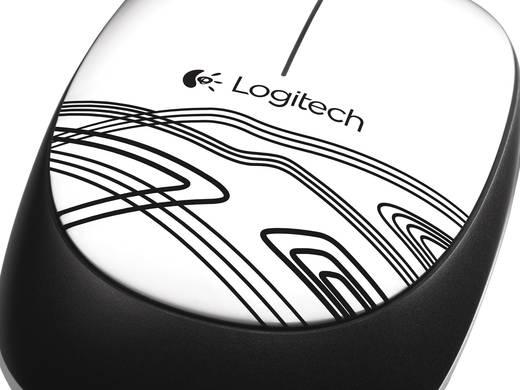 USB-Maus Optisch Logitech M105 Weiß