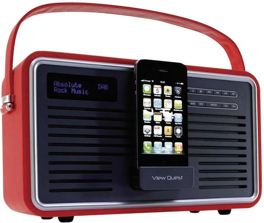 view quest retro dab radio mit ipod iphone dockingstation. Black Bedroom Furniture Sets. Home Design Ideas