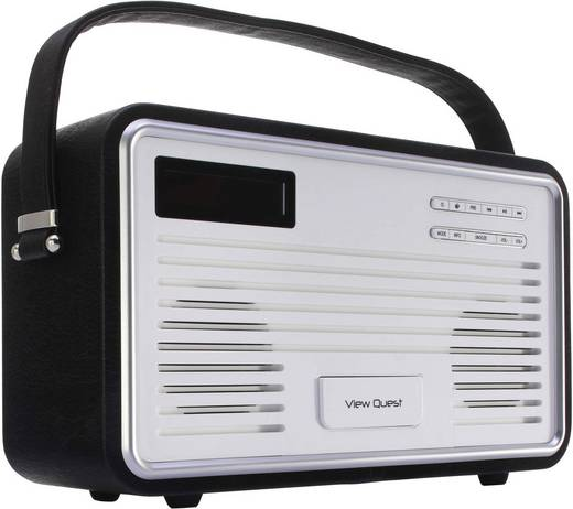 view quest retro dab radio mit ipod iphone dockingstation kaufen. Black Bedroom Furniture Sets. Home Design Ideas