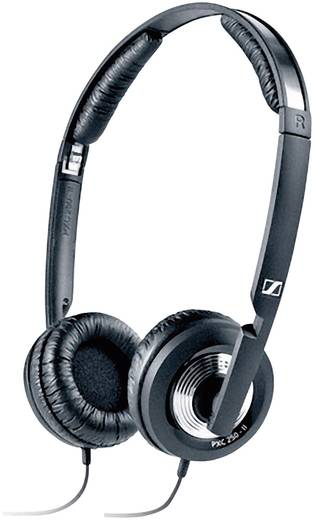Reise Kopfhörer Sennheiser PXC 250-II On Ear Faltbar, Lautstärkeregelung, Noise Cancelling Schwarz