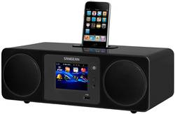 Internetové a DAB+ rádio Sangean WFR-2, DLNA, iPhone/iPad