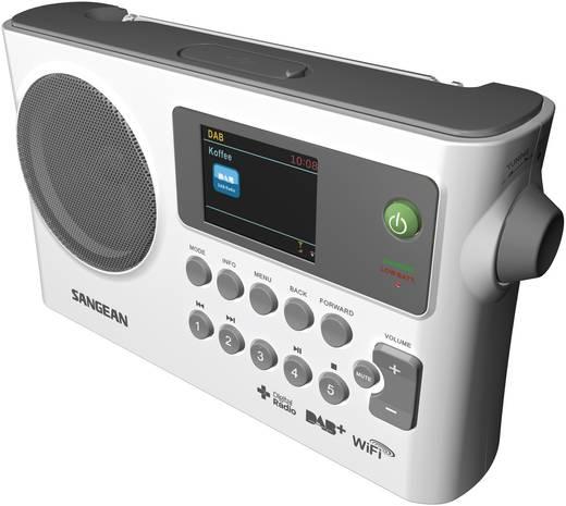 Internet Kofferradio Sangean WFR-28C AUX, DAB+, Internetradio, UKW, USB DLNA-fähig Weiß