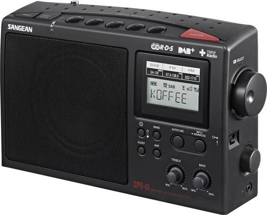 DAB+ Kofferradio Sangean DPR-45 DAB+, MW, UKW Schwarz