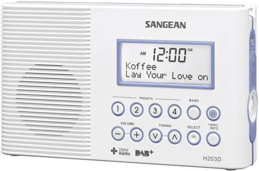 Badezimmer Radio Mit Uhr | Dab Badradio Sangean H 203d Dab Ukw Taschenlampe Wasserdicht