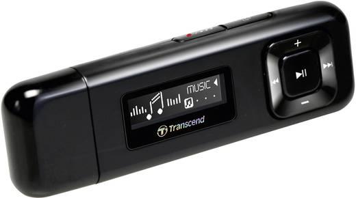 Transcend MP330 MP3-Player 8 GB Schwarz FM Radio, Befestigungsclip