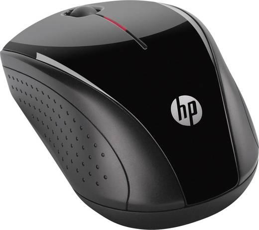 HP X3000 Funk-Maus Optisch Schwarz