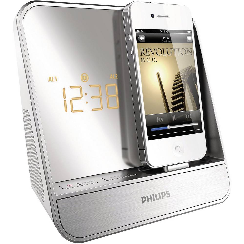 philips aj5300d 12 radiowecker f r ipod iphone outdoor. Black Bedroom Furniture Sets. Home Design Ideas
