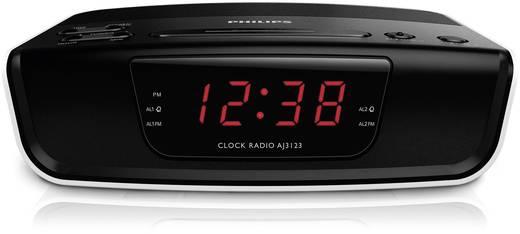 UKW Radiowecker Philips AJ3123 UKW Schwarz, Weiß