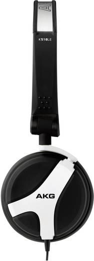 DJ Mono-Headset AKG Harman K 518 LE On Ear Schwenkbare Ohrmuscheln Weiß
