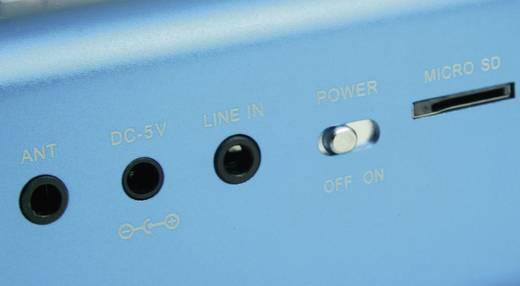 Mini Lautsprecher Technaxx MusicMan MA Lautsprecher AUX, FM Radio, USB, SD Blau