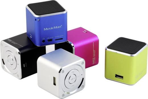 Mini Lautsprecher Technaxx MusicMan Mini AUX, SD, USB Blau