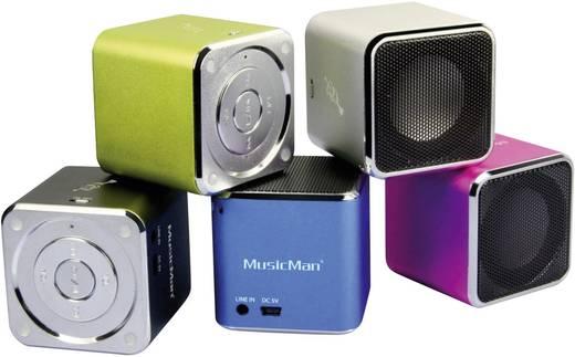 Technaxx MusicMan® Soundstation BT-X2 Bluetooth® Lautsprecher Schwarz