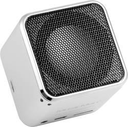 Bluetooth® reproduktor s čtečkou MicroSD karet, Technaxx Musicman BT-X2, stříbrná