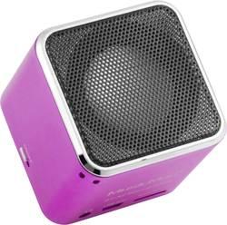 Bluetooth® reproduktor s čtečkou MicroSD karet, Technaxx Musicman BT-X2, růžová