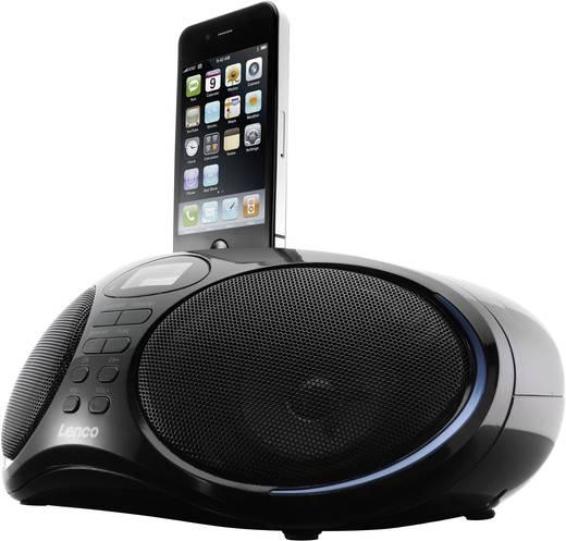 lenco ipd 5250 ukw radio mit dockingstation f r ipod und. Black Bedroom Furniture Sets. Home Design Ideas