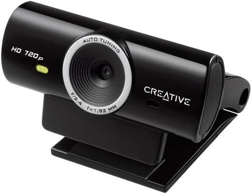 HD-Webcam 1280 x 720 Pixel Creative LIVE CAM SYNC HD 720P Standfuß, Klemm-Halterung