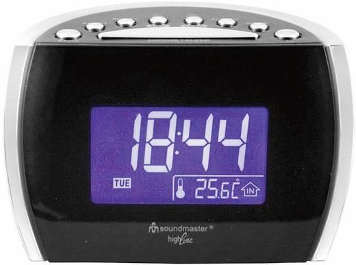 UKW Radiowecker SoundMaster UR 108 MW, UKW Schwarz, Silber
