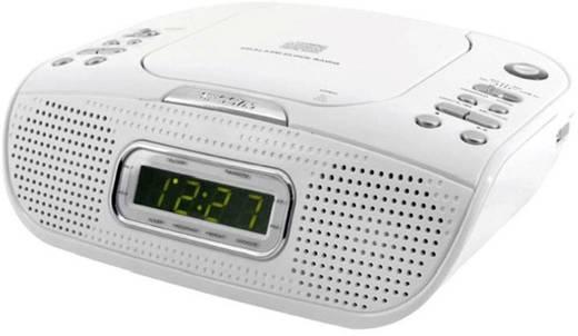 soundmaster urd 830 radiowecker mit cd player wei. Black Bedroom Furniture Sets. Home Design Ideas