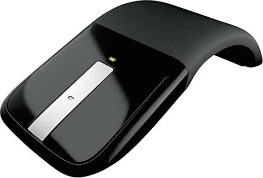 Funk-Maus Optisch Microsoft Arc Touch Mouse Touch-Oberfläche Schwarz