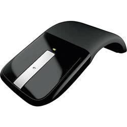 Optická bezdrôtová myš Microsoft Arc Touch Mouse RVF-00050, dotyková plocha, čierna
