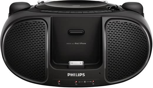philips azd102 cd radio mit dockingstation f r ipod iphone. Black Bedroom Furniture Sets. Home Design Ideas