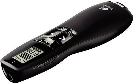 Funk Presenter inkl. Laserpointer, integriertes Display Logitech R700
