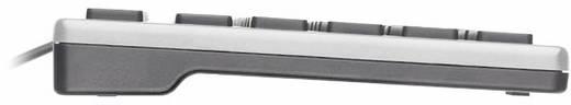 USB-Tastatur Trust Isla Silber