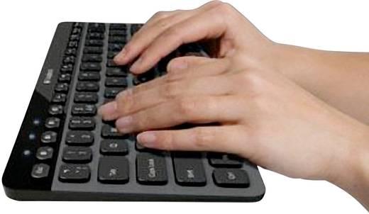 Bluetooth-Tastatur Logitech K810 Schwarz Beleuchtet