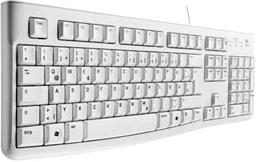 USB-Tastatur Logitech K120 Keyboard Weiß Spritzwassergeschützt