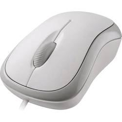 Optická Wi-Fi myš Microsoft Basic Optical Mouse P58-00058, biela