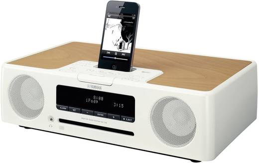 yamaha tsx 132 micro stereoanlage mit ipod iphone dock wei. Black Bedroom Furniture Sets. Home Design Ideas