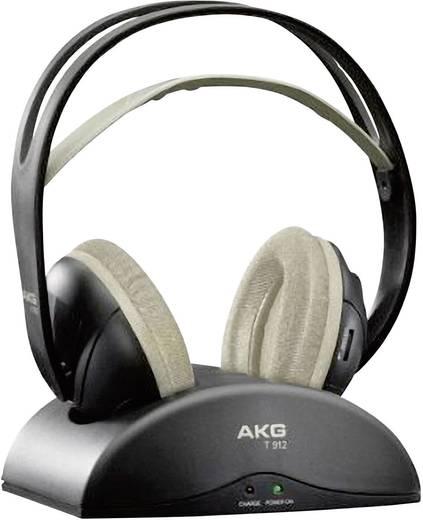 Funk Kopfhörer AKG Harman K 912 Over Ear Lautstärkeregelung Schwarz