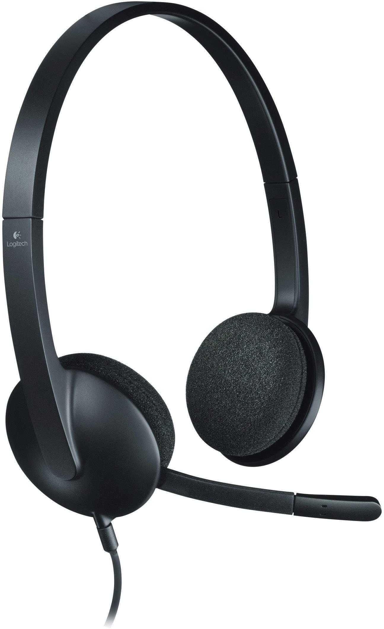 Pc Headsets Gnstig Online Kaufen Bei Conrad Logitech H110 Stereo Headset Usb Schnurgebunden H340 On Ear Schwarz