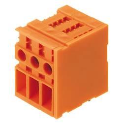 Šroubová svorkovnice Weidmüller TOP4GS8/90 6.35 OR 1667910000, 4.00 mm², Pólů 8, oranžová, 50 ks