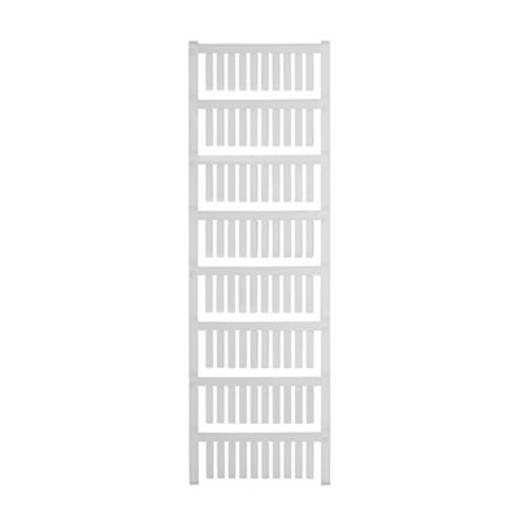 Gerätemarkierung Montage-Art: aufschieben Beschriftungsfläche: 20 x 4 mm Passend für Serie Weidmüller TM-H Hülsen Weiß W