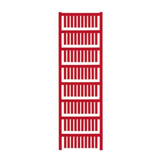 Gerätemarkierung Montage-Art: aufschieben Beschriftungsfläche: 20 x 4 mm Passend für Serie Weidmüller TM-H Hülsen Rot We