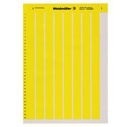 Etiquette pour imprimante Weidmüller LM MT300 18X6,5 GE 1749321687 Surface de marquage: 18 x 6 mm jaune 10 pc(s)