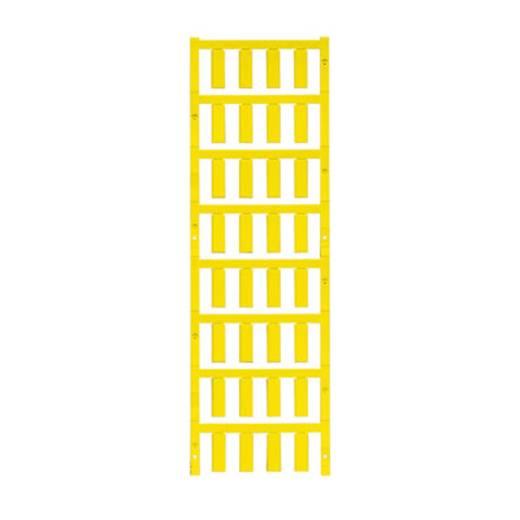 Leitermarkierer Montage-Art: aufclipsen Beschriftungsfläche: 21 x 7.4 mm Gelb Weidmüller VT SF 5/21 NEUTRAL GE V0 16894
