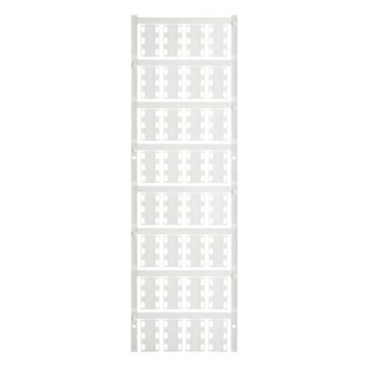 Leitermarkierer Montageart: Kabelbinder Beschriftungsfläche: 23 x 14 mm Passend für Serie Einzeldrähte Weiß Weidmüller VT SFX 14/23 NEUTRAL WS V0 1689490001 Anzahl Markierer: 320 320 St.