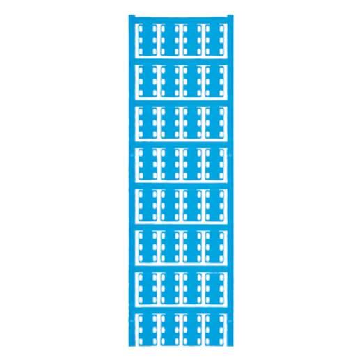 Leitermarkierer Montage-Art: Kabelbinder Beschriftungsfläche: 23 x 14 mm Passend für Serie Einzeldrähte Atoll-Blau Weidm