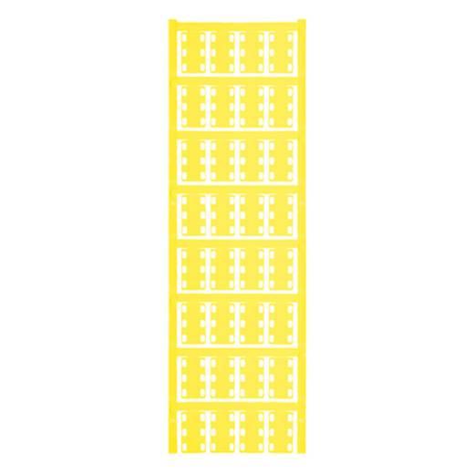 Leitermarkierer Montageart: Kabelbinder Beschriftungsfläche: 23 x 14 mm Passend für Serie Einzeldrähte Gelb Weidmüller VT SFX 14/23 NEUTRAL GE V0 1689490004 Anzahl Markierer: 320 320 St.