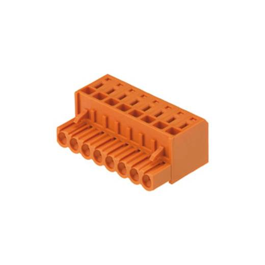 Buchsengehäuse-Kabel BL Polzahl Gesamt 8 Weidmüller 1707520000 Rastermaß: 5.08 mm 42 St.