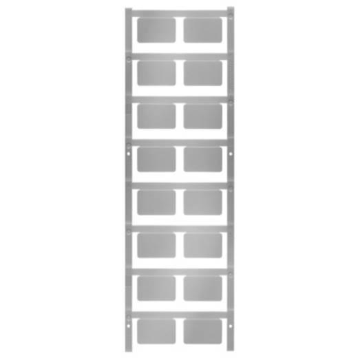 Gerätemarkierung Montageart: aufkleben Beschriftungsfläche: 27 x 18 mm Passend für Serie Geräte und Schaltgeräte, Universaleinsatz, Taster und Schalter 22 mm Silber Weidmüller SM 27/18 K NEUTRAL SI 1713760000 Anzahl Markierer: 80 80 St.