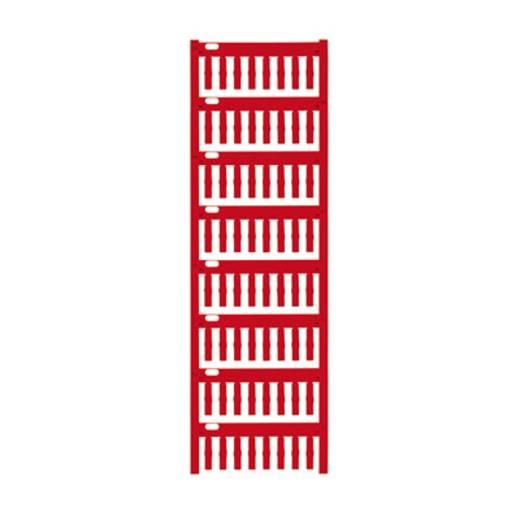 Gerätemarkierung Montage-Art: aufschieben Beschriftungsfläche: 18 x 4 mm Passend für Serie Weidmüller TM-H Hülsen Rot We