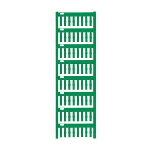 Gerätemarkierung Montage-Art: aufschieben Beschriftungsfläche: 18 x 4.60 mm Grün Weidmüller VT-TM-I 18 NEUTRAL GN 17141