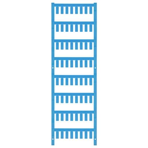 Leitermarkierer Montage-Art: aufclipsen Beschriftungsfläche: 12 x 4.6 mm Atoll-Blau Weidmüller VT SF 3/12 NEUTRAL BL V0